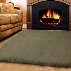 Bloomville Wool Olive Area Rug Rug Size: Rectangle 3'6