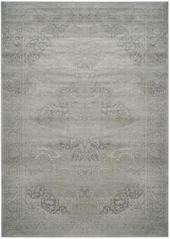 Frith Silver Area Rug Rug Size: Rectangle 5'3