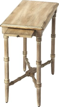 Bulwell End Table Color: Oak Veneer/Driftwood Gray
