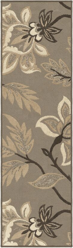 Breitkoff Taupe Area Rug Rug Size: Runner 2'3