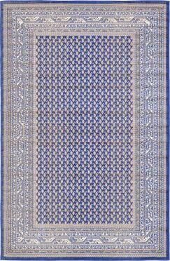 Gillam Blue Area Rug Rug Size: Rectangle 5' x 8'