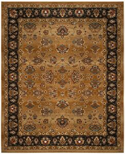 Lowe Beige/Brown Area Rug Rug Size: Rectangle 9' x 12'
