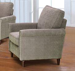 Haytonn Fabric Modern Living Room Armchair