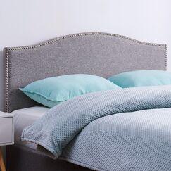 Unger Upholstered Panel Headboard Upholstery: Gray, Size: King/California King