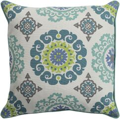 Brierwood 100% Cotton Throw Pillow Size: 20