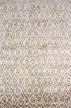 Brashear Hand-Woven Ivory Area Rug Rug Size: Rectangle 6' x 9'