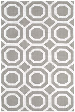 Columbus Circle Brook Hand-Loomed Grey/Silver Area Rug Rug Size: Rectangle 5' x 8'