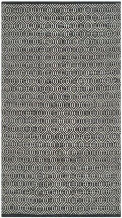 Shevchenko Place Hand-Woven Ivory / Dark Grey Area Rug Rug Size: Runner 2'3