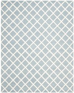 Wilkin Hand-Tufted Light Blue/Ivory Area Rug Rug Size: Rectangle 8' x 10'