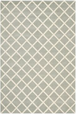 Wilkin Hand-Tufted Gray/Ivory Area Rug Rug Size: Rectangle 6' x 9'