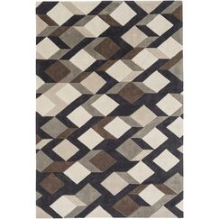 Conroy Hand-Tufted Area Rug Rug Size: Round 8'