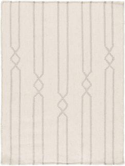 Donley Beige Geometric Area Rug Rug Size: Rectangle 2' x 3'