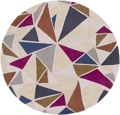 Conroy Hand-Tufted Neutral/Gray Area Rug Rug Size: Rectangle 3'6
