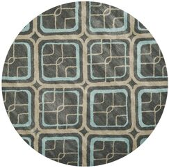 Schaub Hand-Tufted Gray/Beige Area Rug Rug Size: Rectangle 2' x 3'