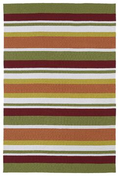 Staple Hill Tangerine Indoor/Outdoor Area Rug I Rug Size: Rectangle 8'6