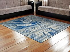Peasedown St John Cobalt Blue Area Rug Rug Size: Rectangle 5' x 8'