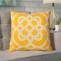 Kupfer Throw Pillow Size: 18