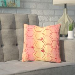 Spinks Untitled Throw Pillow Size: 20