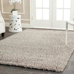 Starr Hill Silver Area Rug Rug Size: Rectangle 2'6