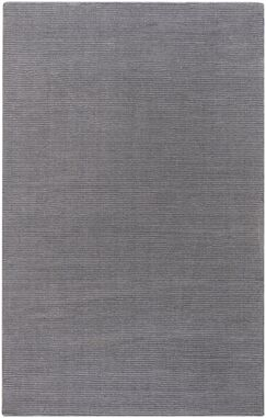 Villegas Hand Woven Wool Gray Area Rug Rug Size: Rectangle 5' x 8'