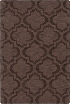 Castro Brown Geometric Kate Area Rug Rug Size: Rectangle 4' x 6'