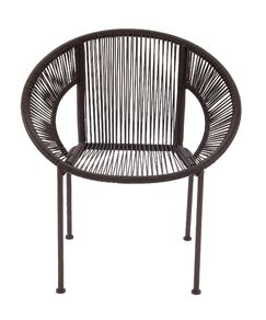 Glendale Heights Papasan Chair Finish: Brown