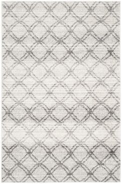 Neuman Silver/Charcoal Area Rug Rug Size: Rectangle 4' x 6'