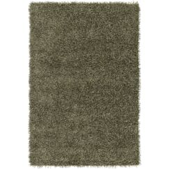 Mchaney Hand-Tufted Green Area Rug Rug Size: Square 6'