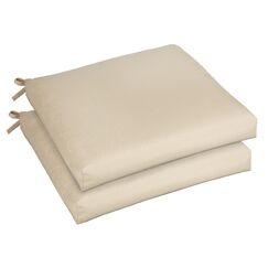 Mcneill Indoor/Outdoor Sunbrella Dining Chair Cushion Size: 20