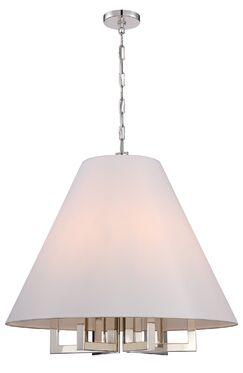 Longley 6-Light Cone Pendant Size: 97