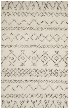 Eleftheria Hand-Tufted Beige Area Rug Rug Size: Rectangle 6' x 9'