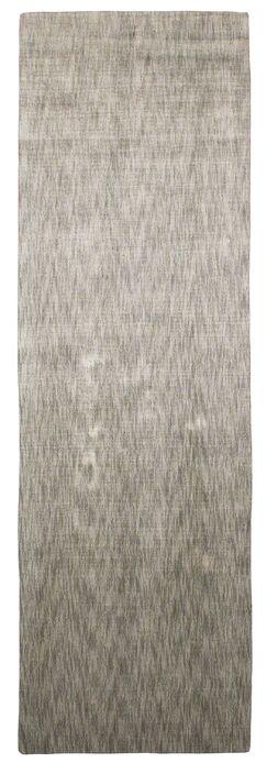 Metro Hand Woven Gray Area Rug Rug Size: Runner 2'6
