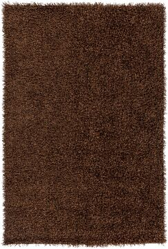 Mchaney Hand-Tufted  Brown Area Rug Rug Size: Square 6'