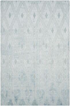 Maxim Hand-Woven Blue Area Rug Rug Size: Rectangle 9' x 12'