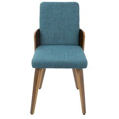 Tadcaster Side Chair Upholstery Color: Teal