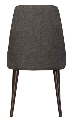 Belmonte 120 Upholstered Dining Chair Body Fabric: Oatmeal, Leg Color: Flax