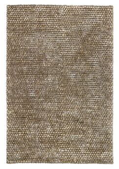 Revathi Hand-Woven Silver Area Rug Rug Size: 2' x 3'