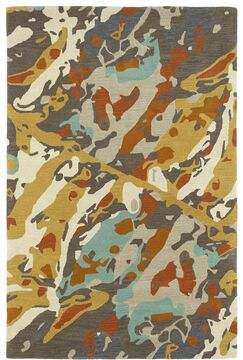 Charlayne Hand Tufted Beige/Gray Area Rug Rug Size: Rectangle 8' x 10'