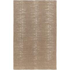 Zafiro Hand-Tufted Camel/Khaki Area Rug Rug Size: Rectangle 9' x 13'