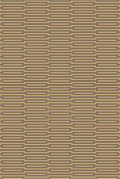 Olinda Wenge/Golden Brown Rug Rug Size: Rectangle 2' x 3'