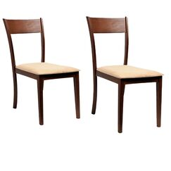 Roosevelt Side Chair (Set of 2) Upholstery Color: Sand