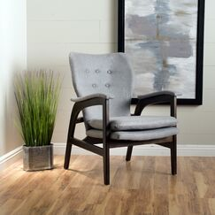 Palmdale Armchair Upholstery: Gray