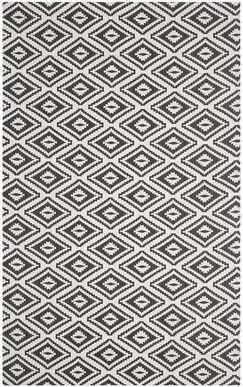 Mission Viejo Hand-Loomed Gray Area Rug Rug Size: Rectangle 4' x 6'