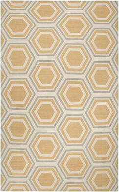 York Butter Area Rug Rug Size: Rectangle 8' x 11'
