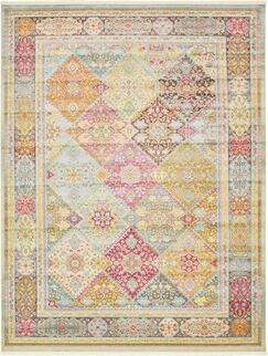 Lonerock Pink/Olive Area Rug Rug Size: Rectangle 10' x 13'