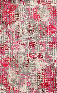 Piotrowski Pink Area Rug Rug Size: Rectangle 10'6