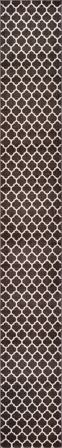 Moore Brown Area Rug Rug Size: Runner 2'7