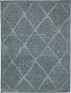 Chester Light Blue Area Rug Rug Size: Rectangle 9' x 12'