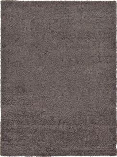 Lilah Dark Gray Area Rug Rug Size: Rectangle 8' x 11'