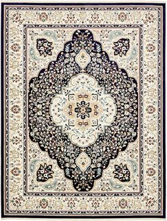 Quince Navy Blue Area Rug Rug Size: Rectangle 13' x 19'8